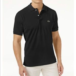 Lacoste Mens Polo Classic Fit 5191l Pique Black